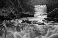 Watersmeet w Devon Zdjęcie Stock
