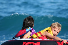 Watersport fun royalty free stock photo