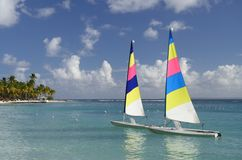Watersports caraibico Immagini Stock