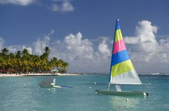 Watersports des Caraïbes photo stock