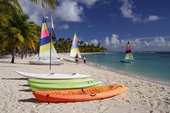 Watersports des Caraïbes Photos stock
