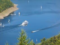 Watersports en el lago ruhr Imagenes de archivo