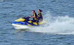 Watersports jet ski racing Royalty Free Stock Photography