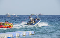 Watersports in Naama Bay Royalty Free Stock Images