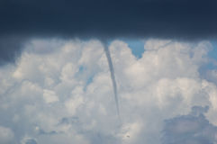 Waterspout forming Royalty Free Stock Photography