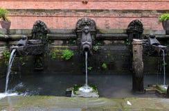 The waterspouts of Manga Hiti. Patan, Nepal Stock Photos