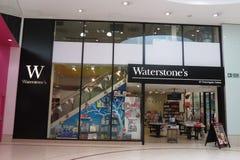 Waterstones Markenspeicher Lizenzfreie Stockbilder