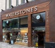 Waterstonesboekhandel Birmingham royalty-vrije stock afbeeldingen