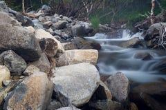 Waterstreamen Arkivbilder