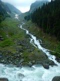 Waterstroom van gletsjer-2 Royalty-vrije Stock Foto's