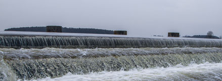 Waterstroomversnelling Stock Fotografie