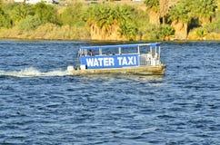 Watertaxi op de Rivier van Colorado, Laughlin, Nevada, de V.S. Royalty-vrije Stock Afbeelding