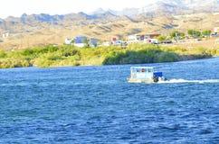Watertaxi op de Rivier van Colorado, Laughlin, Nevada, de V.S. Royalty-vrije Stock Fotografie