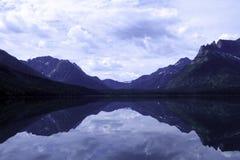 湖Waterton 库存照片