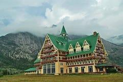 waterton för alberta Kanada hotellprince wales Royaltyfria Bilder