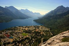 Waterton Lakes Royalty Free Stock Photo