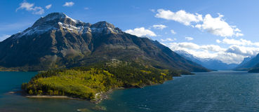 Waterton Lakes Stock Photo
