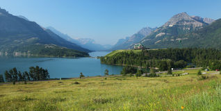 Waterton Lakes in Canada Royalty Free Stock Photography