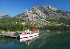 Waterton Lakes in Canada Royalty Free Stock Photo