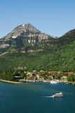 Waterton lakes natianal park royalty free stock images