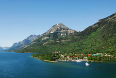Waterton lakes natianal park Stock Photos