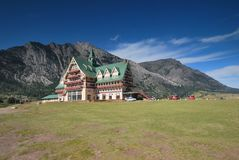 Waterton National Park in Canada Stock Image