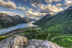 Waterton National Park Royalty Free Stock Image
