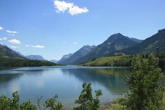 Waterton Nationalpark Lizenzfreies Stockbild