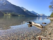 Waterton nationalpark Royaltyfri Bild
