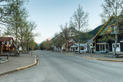 Waterton Park village Royalty Free Stock Photography
