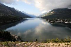 Waterton sjö, Kanada Royaltyfri Bild