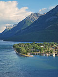 Waterton Town 1, Waterton, Alberta Royalty Free Stock Image