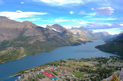 Waterton village Royalty Free Stock Image