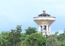 Watertoren in Manado Stock Afbeeldingen