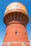 Watertoren in Mittweida, Duitsland royalty-vrije stock fotografie