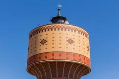 Watertoren in Mittweida, Duitsland royalty-vrije stock afbeelding