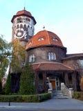 Watertoren in Svetlogorsk stock foto's