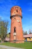 Watertoren van Heiligenbeil Stock Afbeeldingen