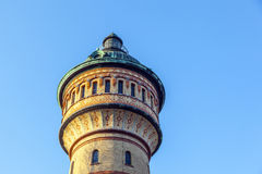 Watertower famoso en Biebrich, Wiesbaden Fotos de archivo