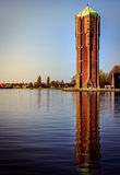 Watertower przy Aalsmeer Obrazy Stock
