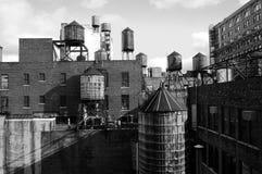 Watertowers Stock Image
