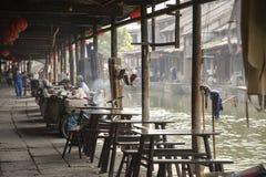 Watertown antica di Shaoxing Fotografia Stock