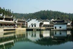 Watertown antique de Shaoxing Photo libre de droits