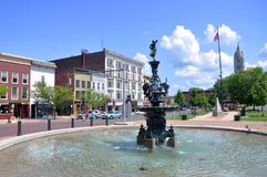 Watertown New York stat, USA Royaltyfri Fotografi