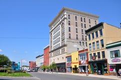 Watertown New York stat, USA royaltyfria bilder