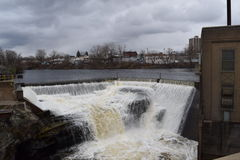 Watertown, NY reservoir Royalty Free Stock Image