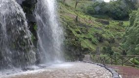 Waterval stock footage
