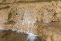 Waterval in aardpark, Thailand stock afbeelding
