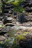 Waterval als haar Stock Fotografie