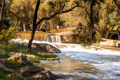 Waterval in Australië Royalty-vrije Stock Fotografie